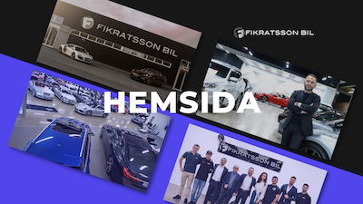 Vi skapar din nya hemsida