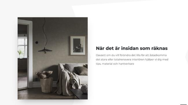 måleributiken i alvik - website