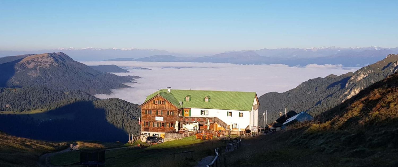 Unterwegs auf dem Dolomitenhöhenweg Nr. 2: Schlüterhütte