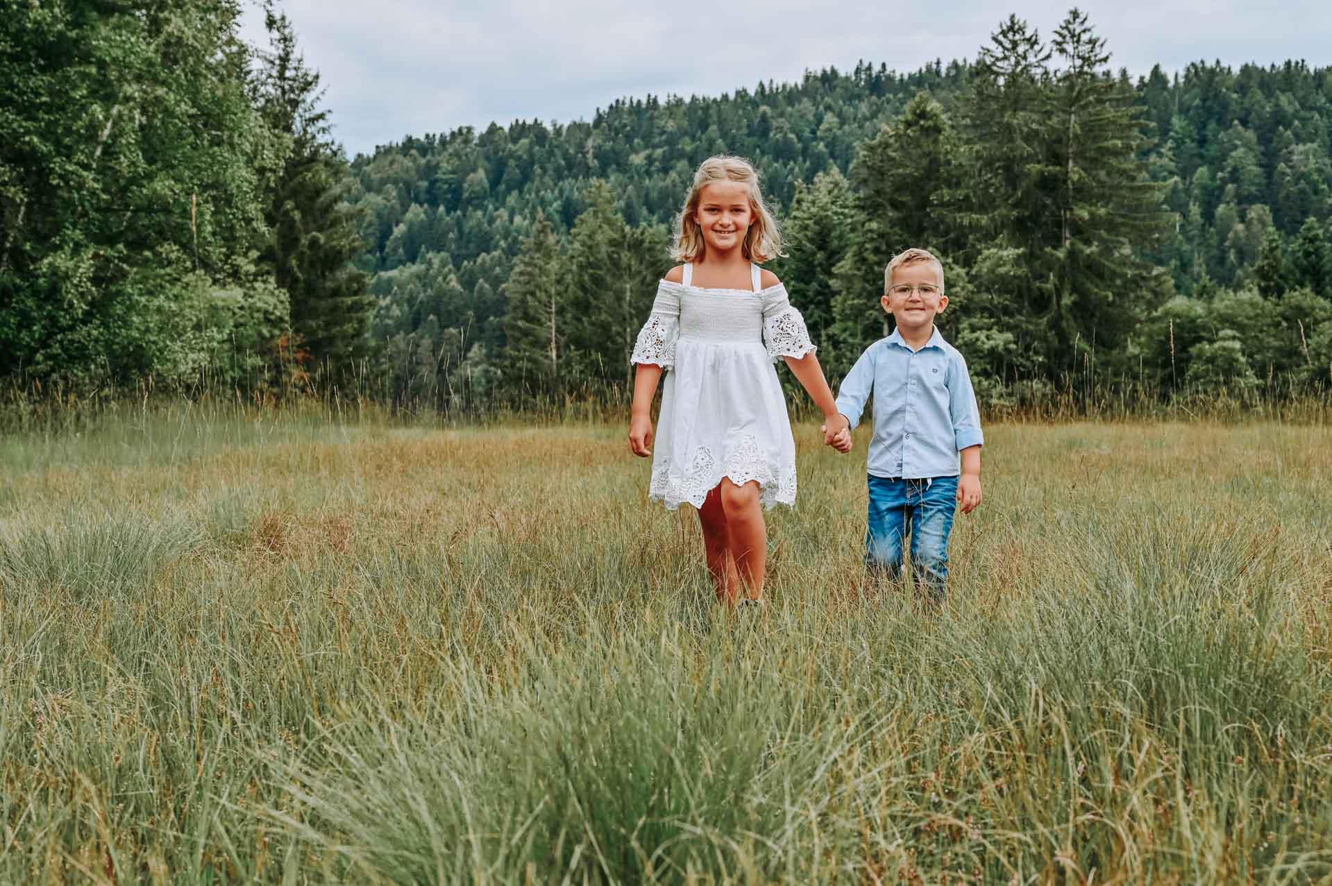 Geschwister-Shooting Emma und niklas