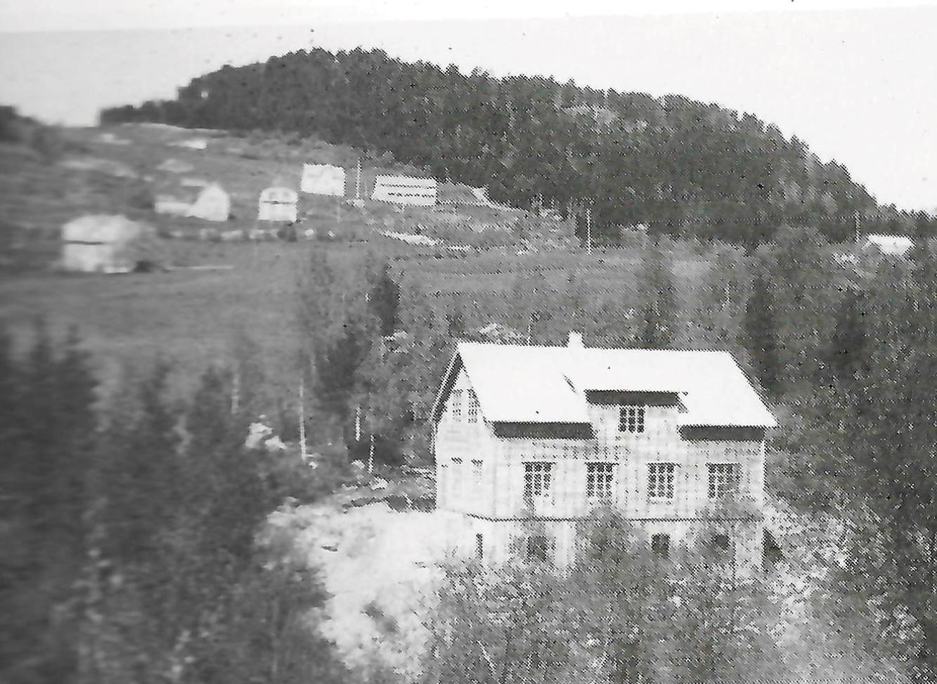 Sitwell - Liabygda Trevarefabrikk Første bygg fra 1933