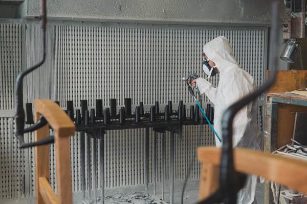 Lakk avdeling Sitwell Fabrikk