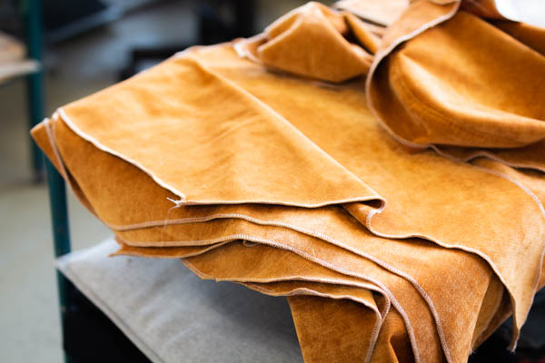 Ferdig sydd tekstil klar for møbeltrekking Sitwell