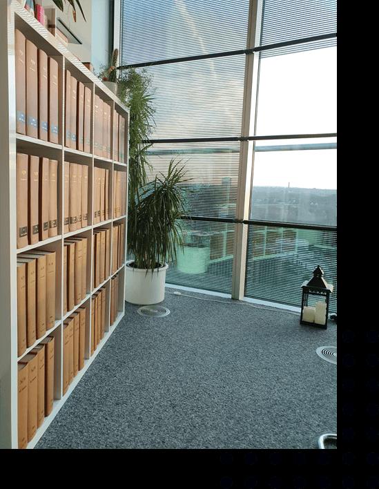 Ein Bild von dem Büro von Rechtsanwalt Marco Atmaca im Exzenterhaus Bochum