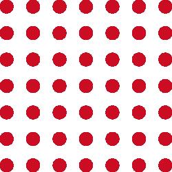 Rote Punkte als Gestaltungselement