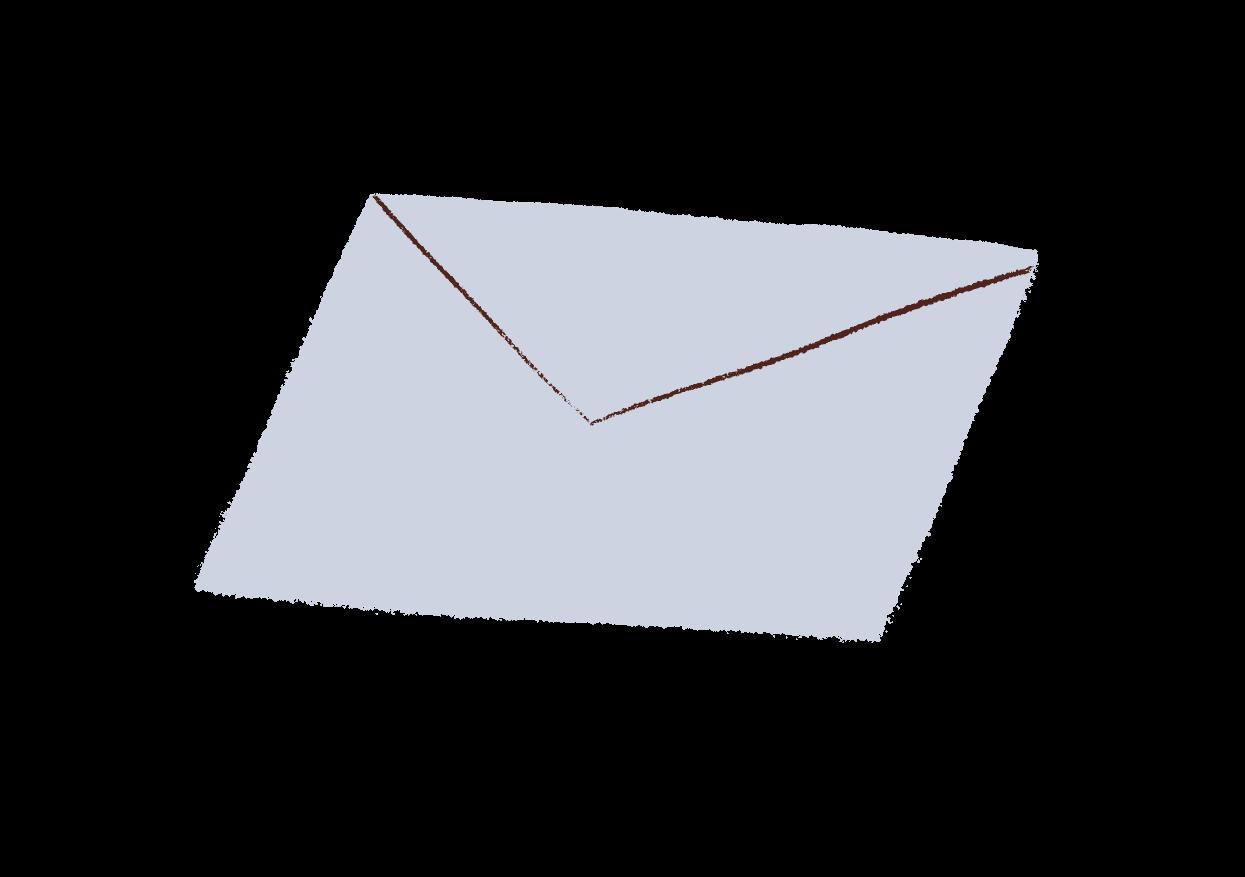 An illustration of an envelope