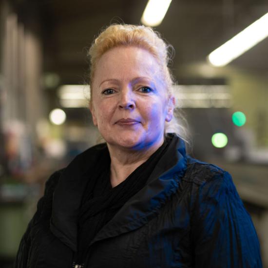 Portrait Assistenz der Geschäftsführung Petra Düring