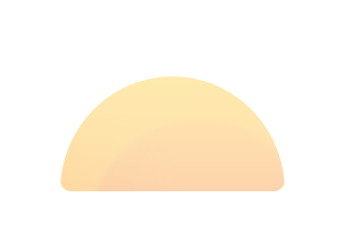 Firstbloom's Logo. It's the top half of a sun, that looks like it could be peaking over the ocean (like during a sunrise).