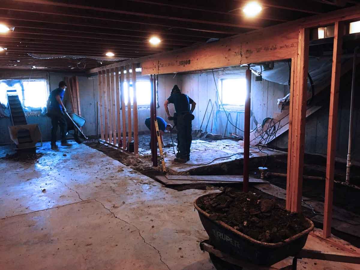 Basement Waterproofing Services