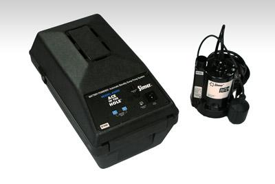 Battery Backup Sump Pump Installation