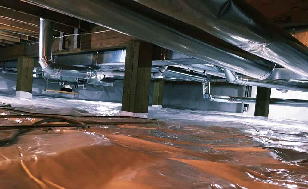 Baseboard Waterproofing System