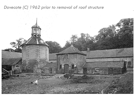 Chillington Hall, Codsall Wood - Dovecote