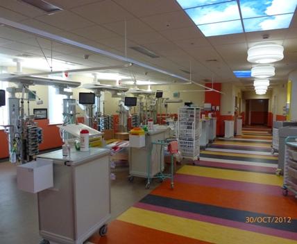 Paediatric Intensive Care Unit - Birmingham