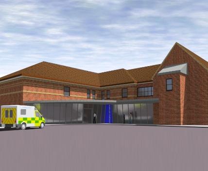 Emergency Admissions Unit - Burton