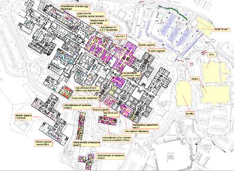 Queens Hospital Site Developments