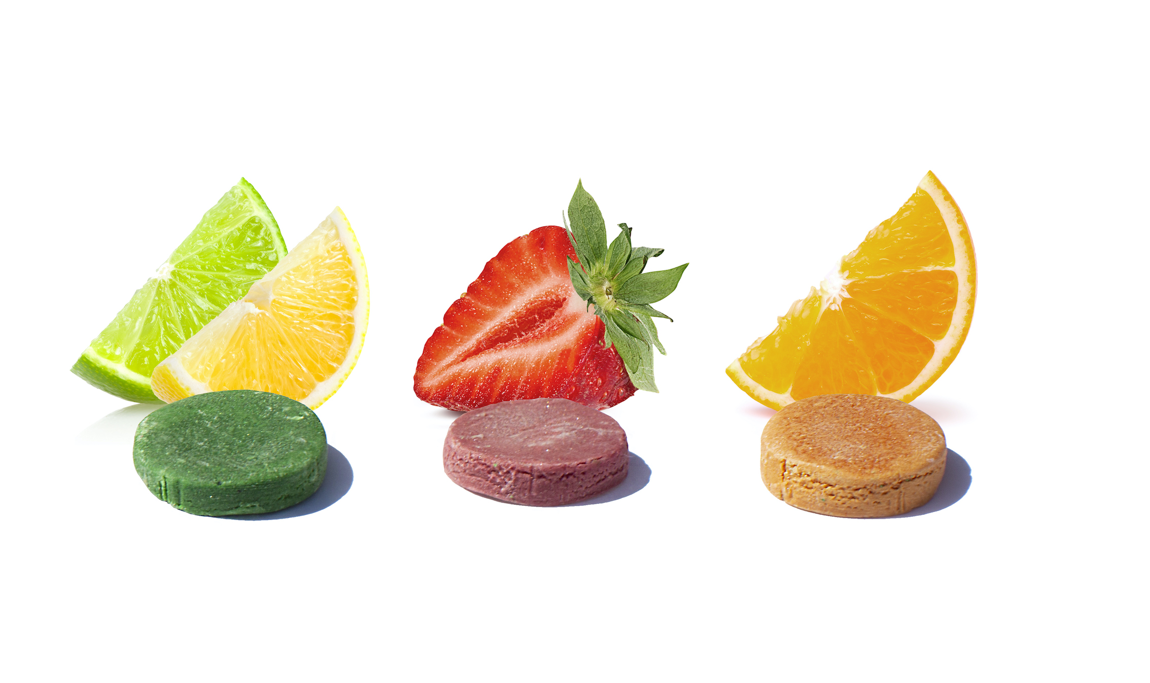A new healthy hard candy FAVES, in the flavors lemon lime, orange, and strawberry.