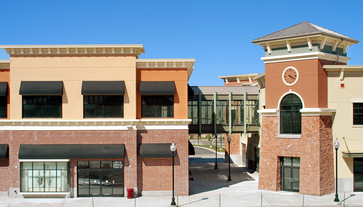 Many unique shops are located at the Redstone Shopping Center in Park City, Utah.
