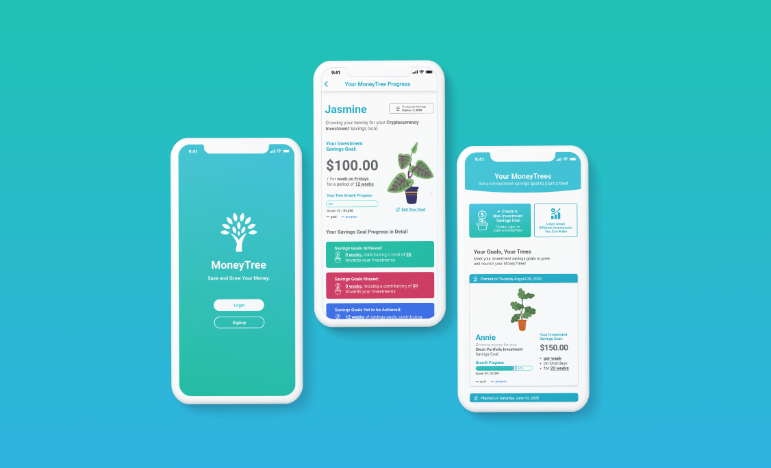 MoneyTree is an investment savings app that helps you create savings goals, build your investments and grow your money.
