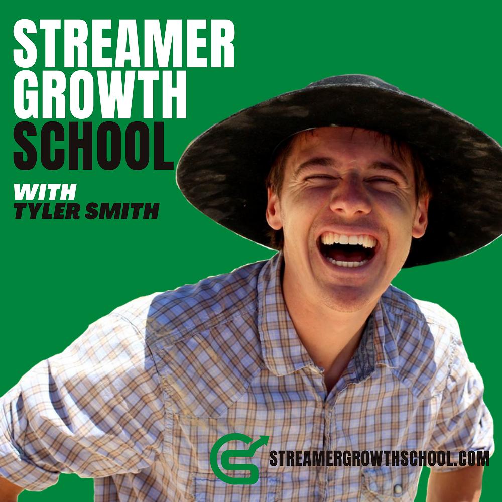 Streamer Growth School Podcast Logo