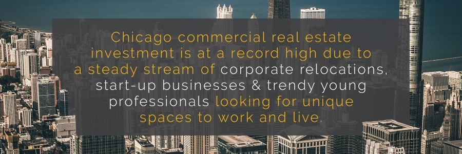 Chicago commercial real estate investment is at a record high