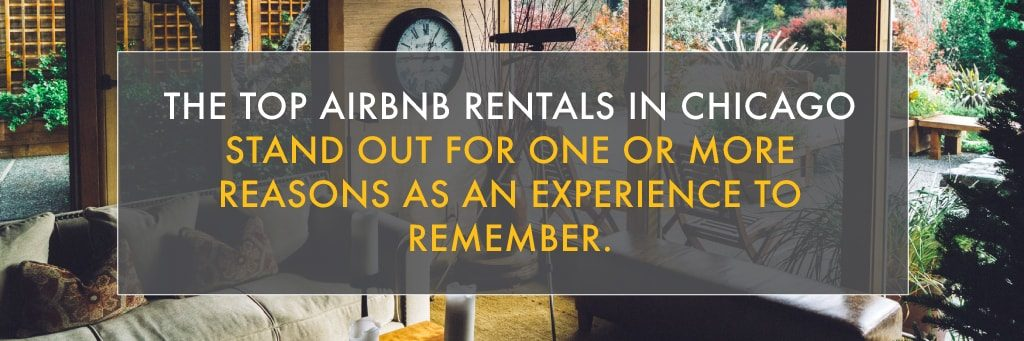 top airbnb rental experience