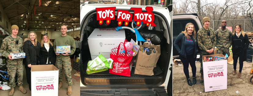 toys for tots collage
