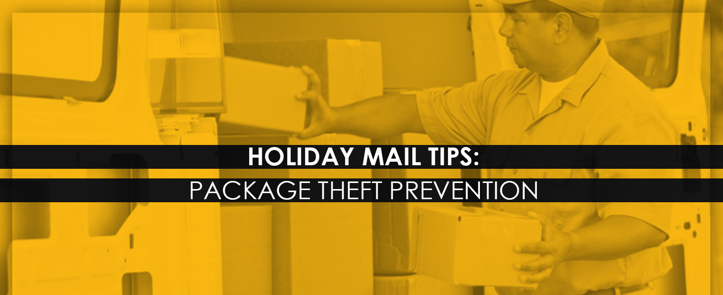 Holiday Mail Tips Package Theft