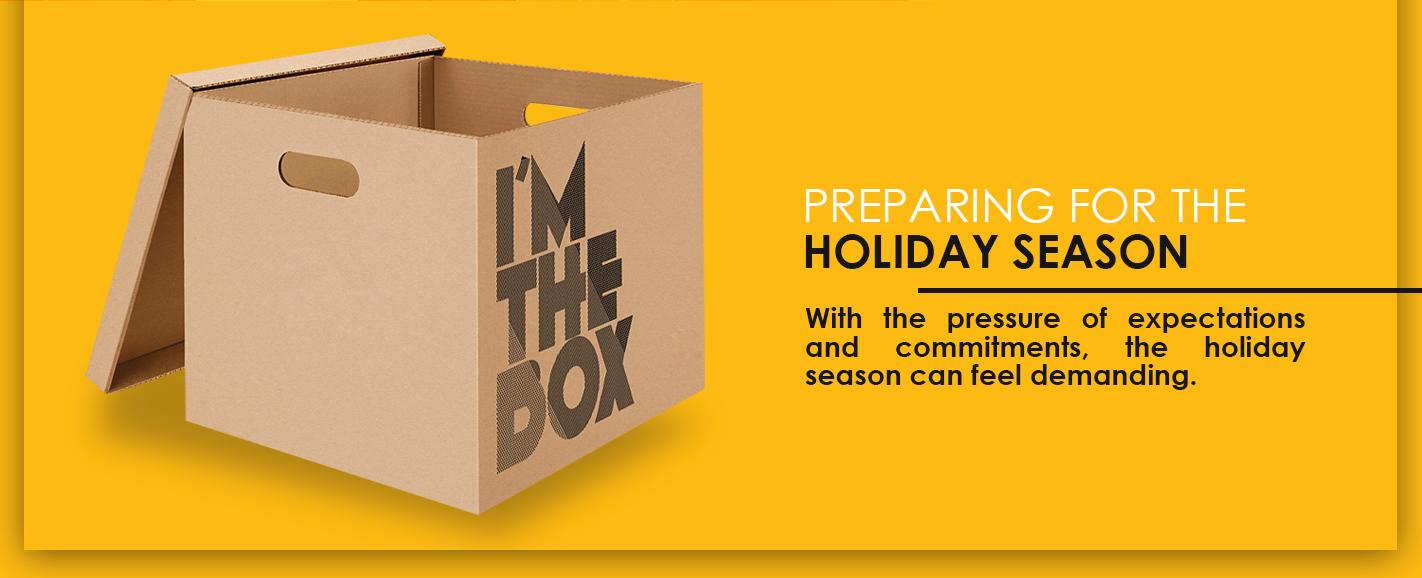 preparing for the holiday season