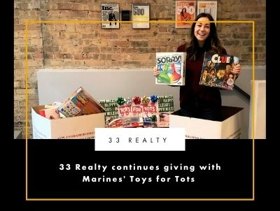 33 Realty continues giving with Marines' Toys for Tots