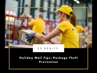 Holiday Mail Tips: Package Theft Prevention