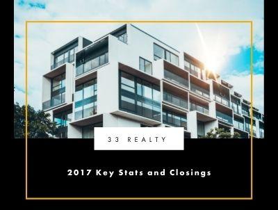 2017 Key Stats and Closings