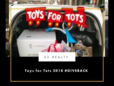 Toys for Tots 2018 #GIVEBACK