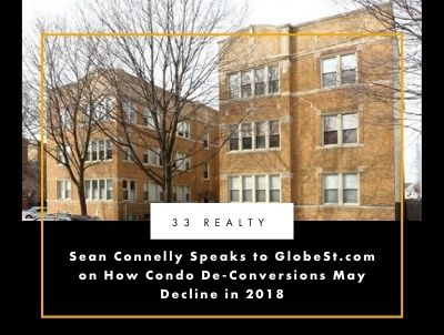 Sean Connelly Speaks to GlobeSt.com on How Condo De-Conversions May Decline In 2018