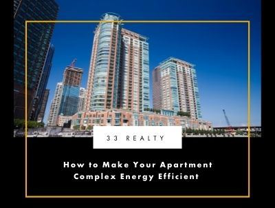 How to Make Your Apartment Complex Energy Efficient