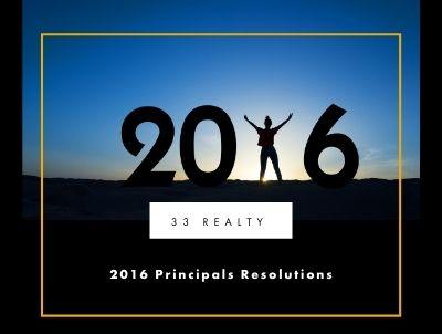 2016 Principals Resolutions
