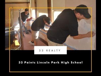 33 Paints Lincoln Park High School
