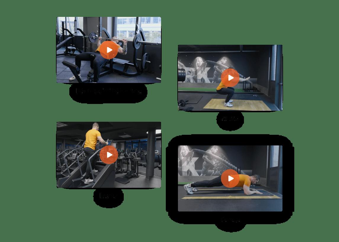 Application pour coach sportif - Logiciel pour coach sportif - Application coaching sportif - Vidéos fitness - Exercices Fitness - Exercices musculation