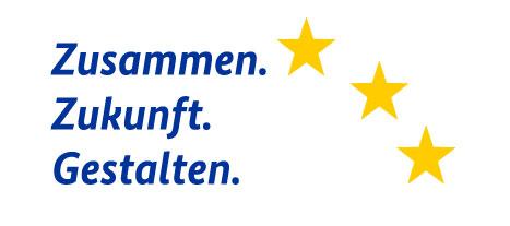 Logo: Zusammen. Zukunft. Gestalten.
