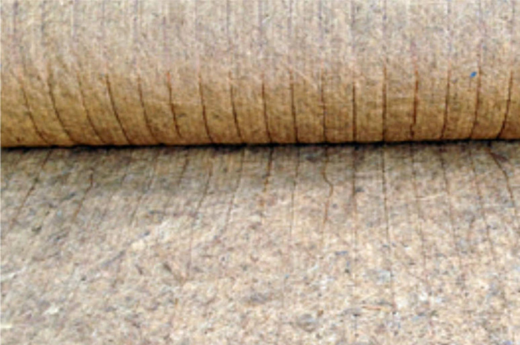 Kokosove biorogoznice za protierozijsko zaščito