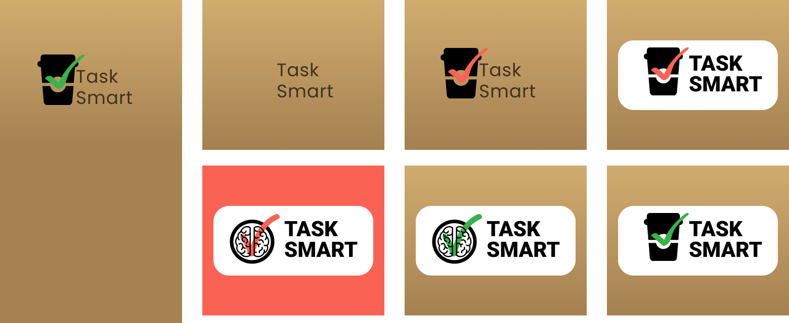 Logos used to survey users about their preferences