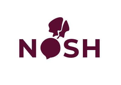 Original logo and color scheme for The Daily Nosh