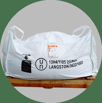 Bolsa de nitrato una tonelada