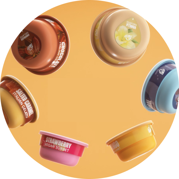 capsules with different flavours