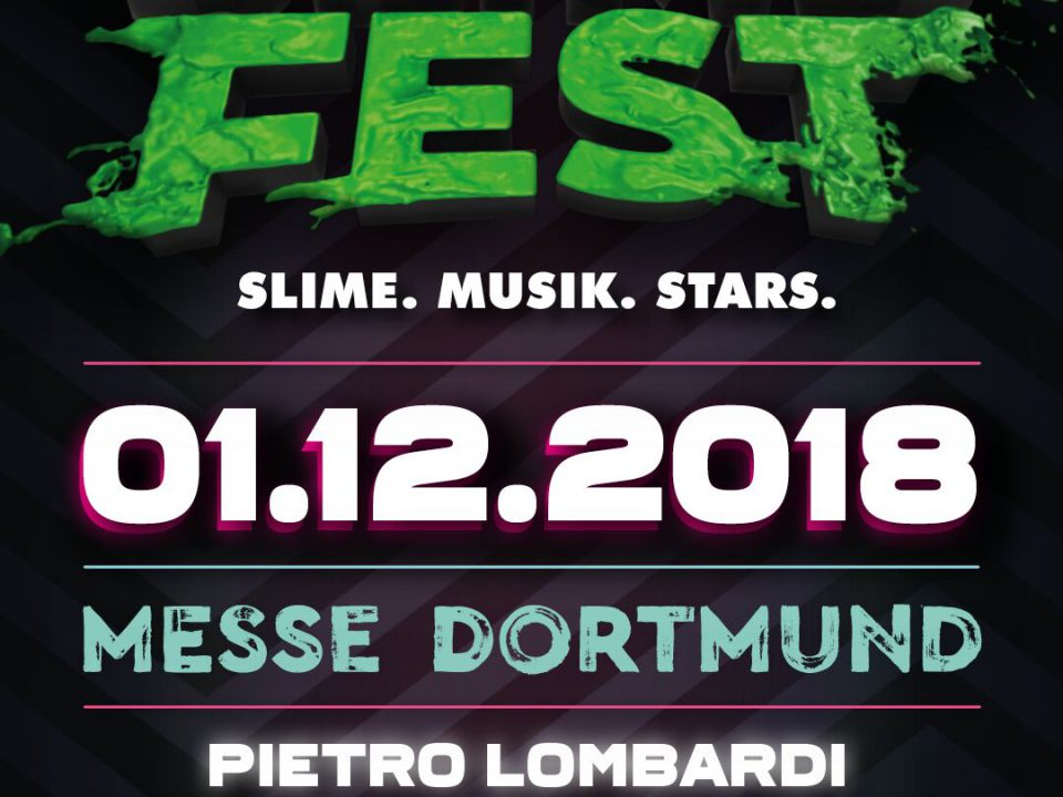 """Preview Poster of the show """"Slime Fest"""""""