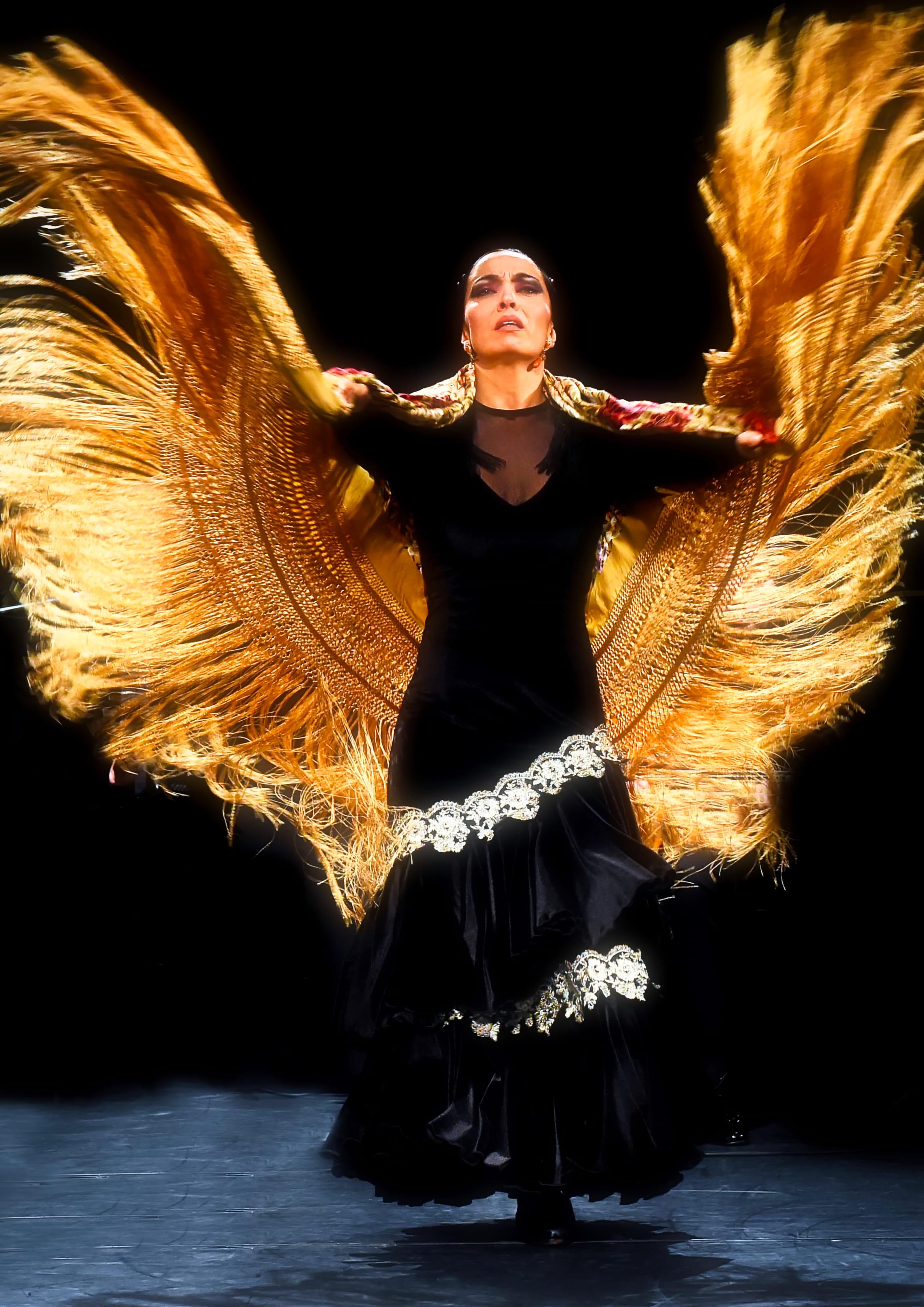 picture of the flamenco dancer Ursula Moreno
