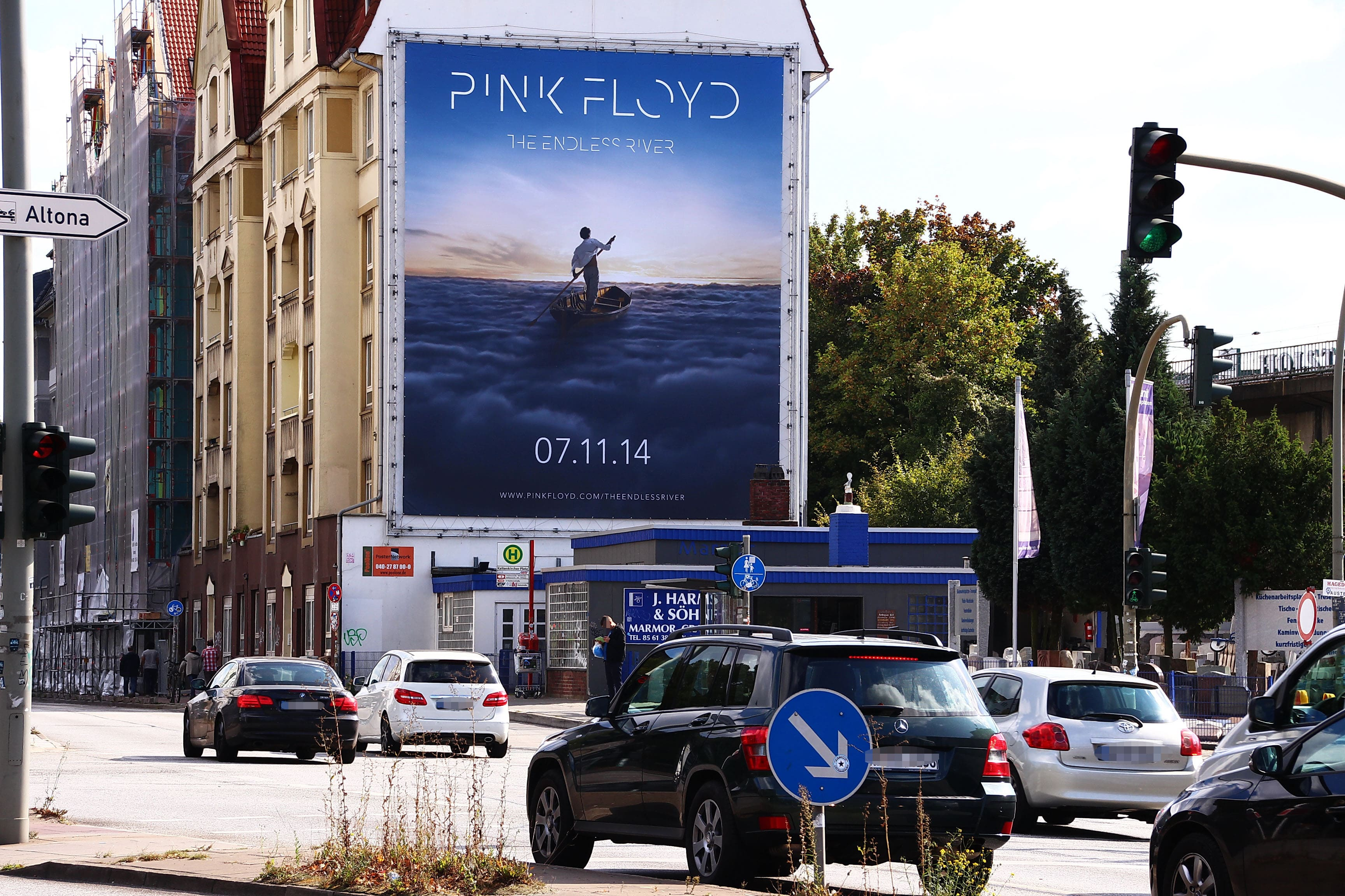 concert ad outdoor poster