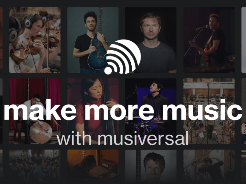 Our investment in Musiversal - the platform empowering music creators