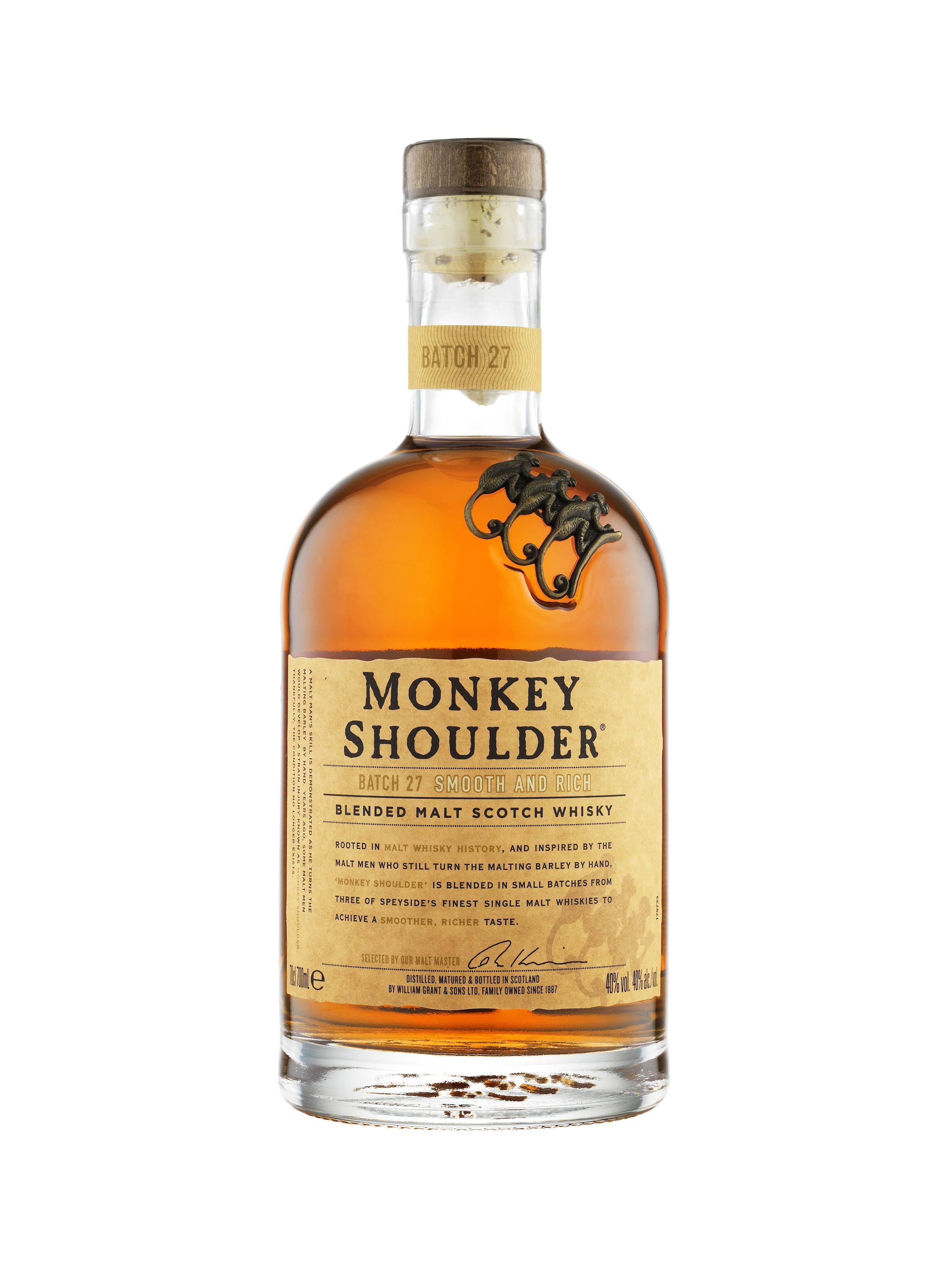 5 choses à savoir sur le blended malt Monkey Shoulder