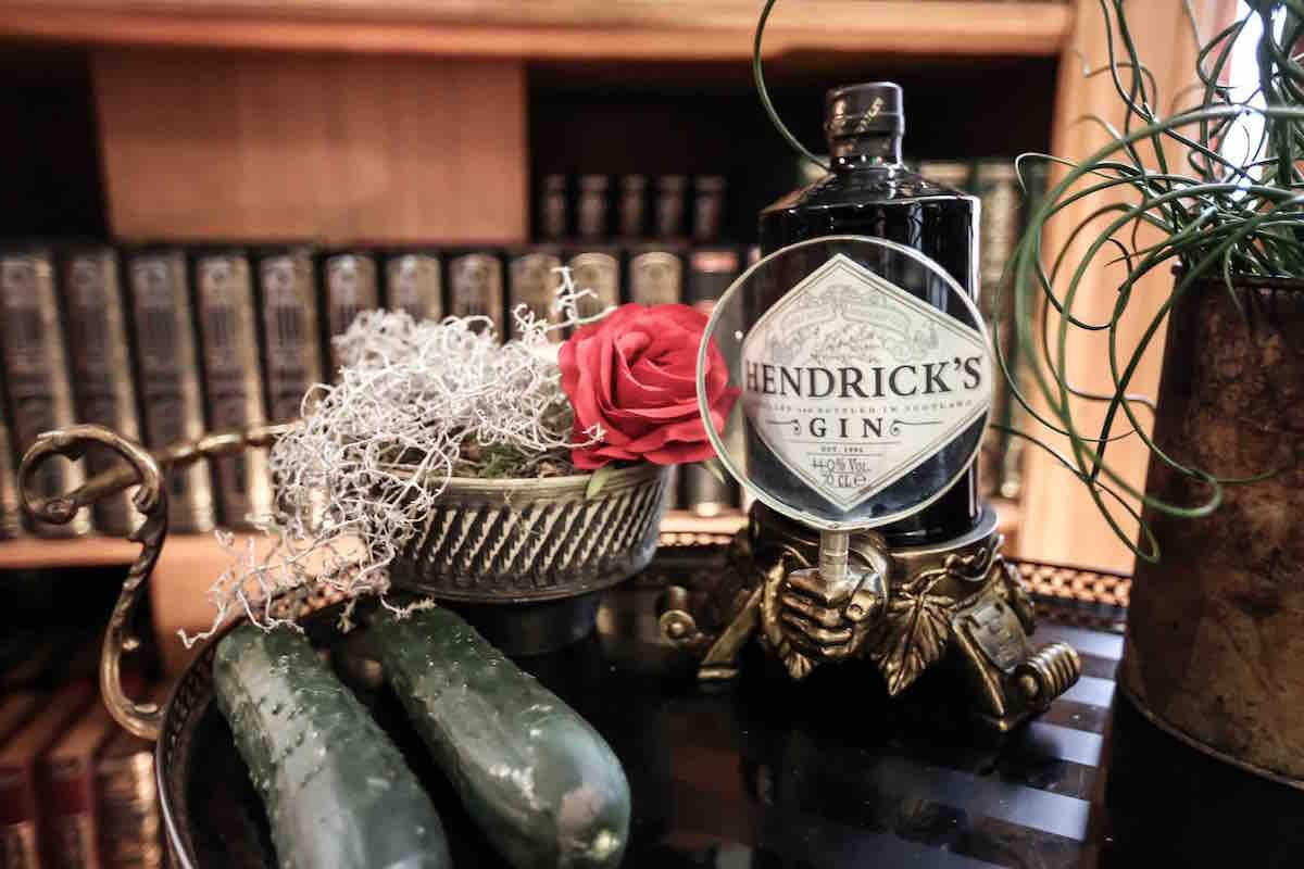 Journée internationale du concombre avec Hendrick's !