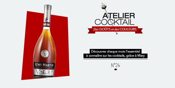 Les 10 tips cocktails avec Rémy Martin